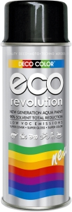 EKO Revolution czarny poł RAL 9005 400 ml