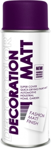 Decoration Matt fioletowy Parma Trendy 400 ml