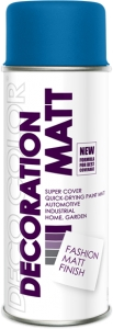 Decoration Matt niebieski RAL 5005 400 ml