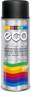 EKO Revolution czarny mat RAL 9005 400 ml