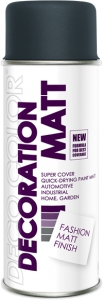 Decoration Matt antracyt RAL 7016 400 ml